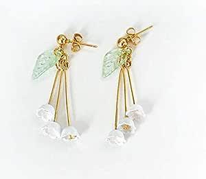 Fashion lady tassel chrysanthemum earrings