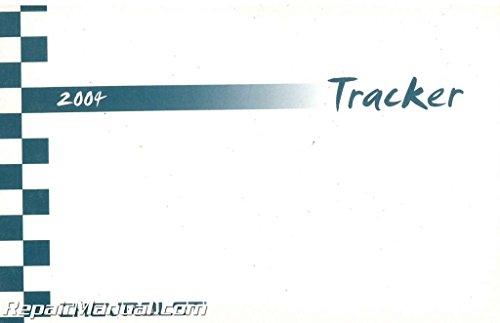 2004-Chevrolet-Tracker 2004 Chevrolet Tracker Owner's Manual Used