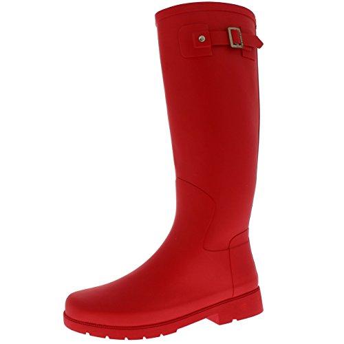 Das wasserdichte Regen-Winter-Feld-dünnes Schlamm-Festival-Schnee-Wellington der polaren Produkt-Frauen rot