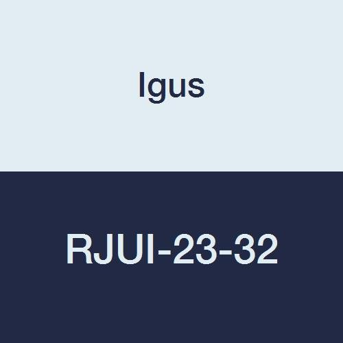[해외]Igus RJUI-23-32 DryLin R 저 클리어런스 자기 정렬 선형 평형 베어링, 2 공칭 크기/Igus RJUI-23-32 DryLin R Low Clearance Self-Aligning Linear Plain Bearing, 2  Nominal Size