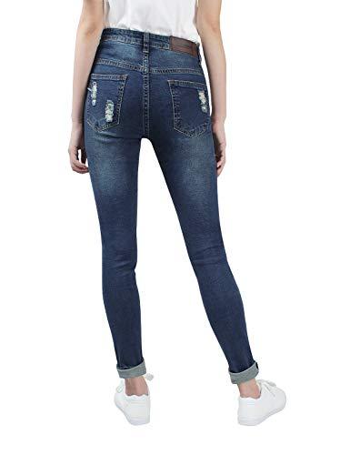 608 Series Jeans Demon Blu Skinny Normal Donna amp;hunter X E8078 aTq1pBwv