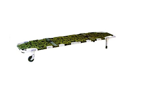 Stretcher Foldaway Aluminum Wheel Camouflage Equipment Am...