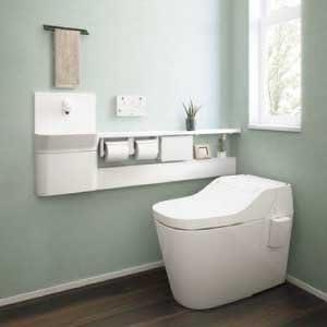 アラウーノ専用手洗い カウンタータイプ 10cm前出しタイプ [XCH1JNZ] 自動水栓 壁排水 右仕様