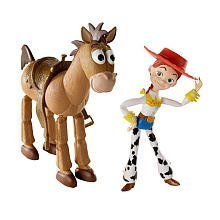 DiZ two over Pixar Toy Story 3 limited ™ 6 Inch Action Figure Pack Jesse & bullseye parallel import goods (Toy Story 2 Jesse)
