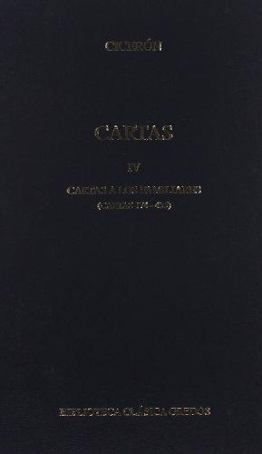 Descargar Libro 374. Cartas Iv. Familiares, Ii Cicerón