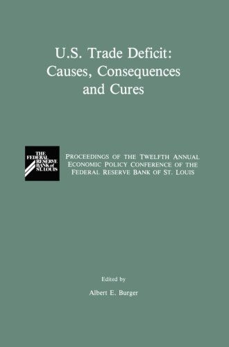 (U.S. Trade Deficit: Causes, Consequences, and Cures: Proceedings of the Twelth Annual Economic Policy Conference of the Federal Reserve Bank of St. Louis)