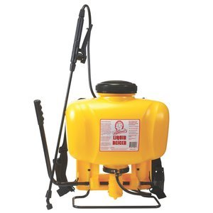 4 gal Bag Magnesium Chloride Ice melt Backpack Sprayer ()