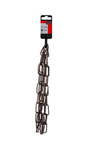 Efn Lamp - Suki Set of 2Decorative Chain 4K Hammered 3x 14.5x 29mm, Bronzed 3818102