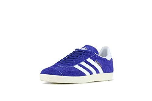 low priced ea0c2 88705 active White Blue White Azul ftwr Gimnasia off Para Adidas Gazelle Active Zapatillas  Hombre White De HvWq7w0