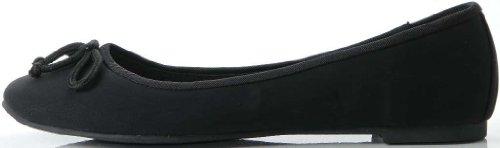 ILSE JACOBSEN Ballerinas Schuhe Leder/Mix black