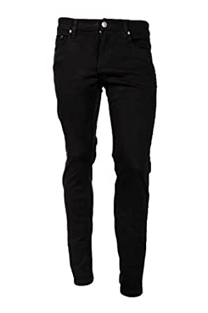 Victorious Men's Skinny Fit Color Jeans-28x30-Black