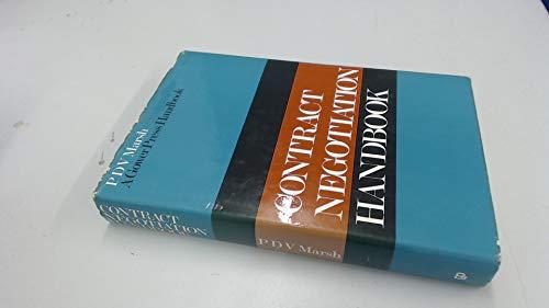 Contract negotiation handbook (A Gower Press handbook)