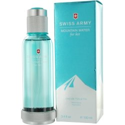 Swiss Army Mountain Water Victorinox Edt 3.4 Ounce Women (Toilette Waters Perfumes)