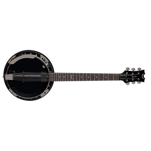 Dean Banjo - Dean BW6CEBC Backwoods 6 Banjo with Pickup, Black Chrome