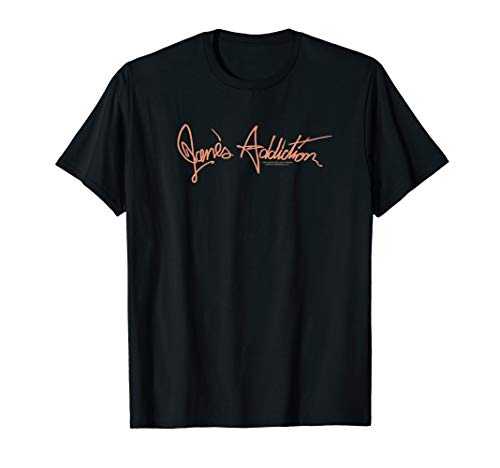 Jane's Addiction Script Logo T-Shirt