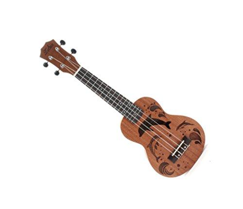 Soprano Ukulele Uke 15 Frets EQ Musical Instrument 21-Inch - 3
