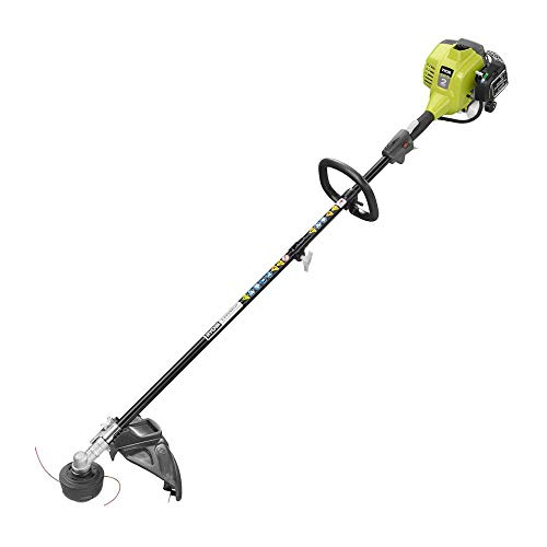 "Ryobi RY253SS 25cc Straight Shaft 18"" Lawn Grass Weed Trimmer 2 Cycle Gas Power"