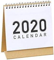 perpetualu 2020 Tischkalender, 2020 Taifun-freie Tischkalender, Tischkalender, Plan Memo, DIY Handbemalte Notizblock Kalender
