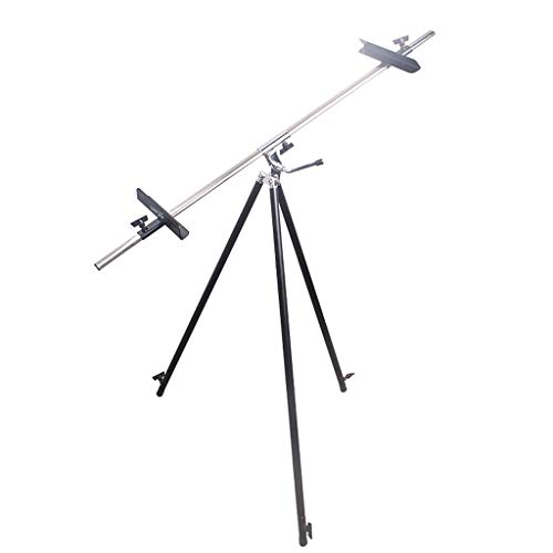 Portable Collapsible Iron Sketching Easel, Can Be Used As A Display Easel, Vertical and Horizontal QYSZYG ()