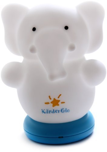Kinderglo Portable Fun and Safe Rechargeable Night Light, Elephant by KinderGlo