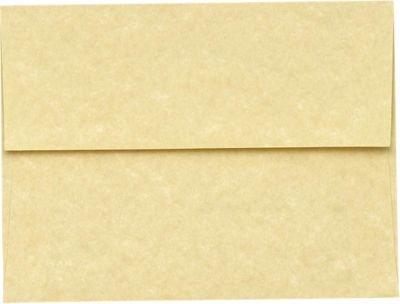 (A7 Invitation Envelopes w/Peel & Press (5 1/4 x 7 1/4) - Gold Parchment (50 Qty)   Perfect for Invitations, Announcements, Sending Cards, 5x7 Photos   Printable   80lb Paper   6680-14-50)