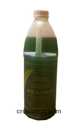 1 X Aqua Fresh Deodorizer and Air Freshener for Rainbow Vacuum Vacuum Cleaners  32oz; Neutralize odors in your home with a small amount in your water basin
