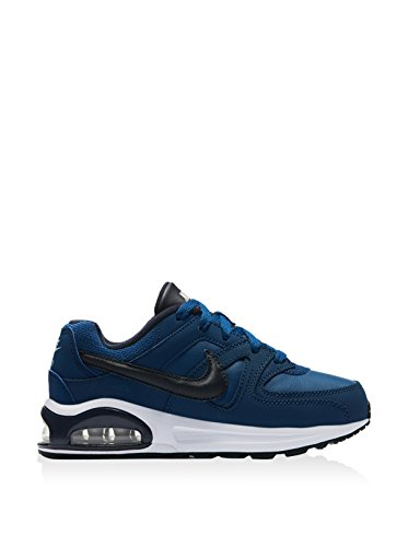 Nike 844353-440, Zapatos de Primeros Pasos Bebé-Niño, Azul (Coastal Blue / Dark Obsidian / Black), 28 EU