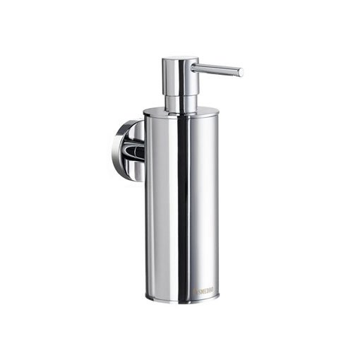 Smedbo SME_HK370 Soap Dispenser Wall mount, Polished Chrome - Smedbo Glass Wall Soap Dispenser