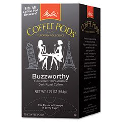 Buzzworthy Coffee Pods - 4COU Coffee Pods, Buzzworthy (Dark Roast), 18 Pods/Box