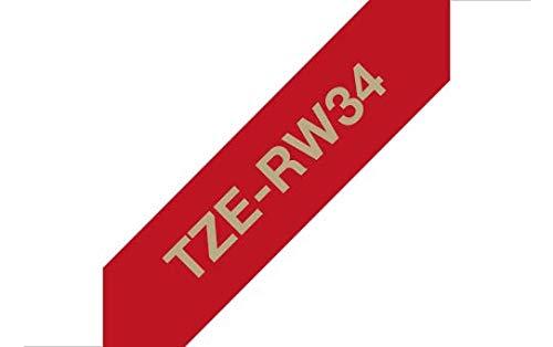 3,3 mm Brother TZEN201 Nastro Non Laminato Nero//Bianco
