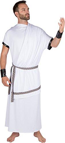 $19.99 ...  sc 1 st  Funtober & Adult Menu0027s Grecian Toga Costume by Capital Costumes - Funtober