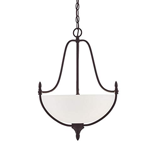 (Savoy House 7-1004-3-13 Herndon Pendant, 3-Light 300 Total Watts, English)