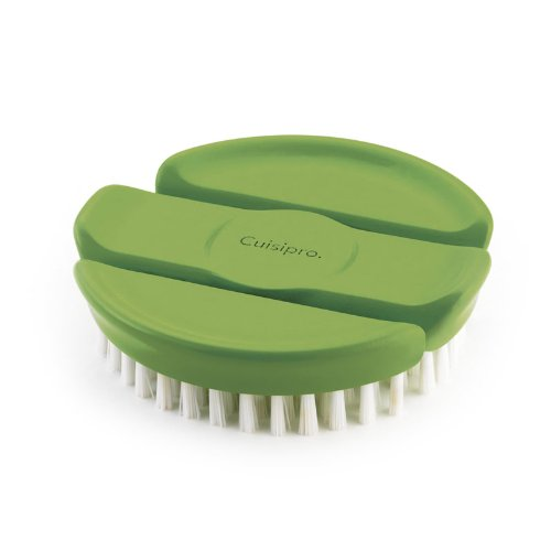 Cuisipro Flexible Vegetable Brush, Green Browne & Co. 747313
