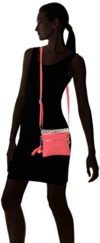 Women's Shoulder Silver Dazzling K15178B19 S C Kipling Bag Yellow Pink Alvar ftq1Swd