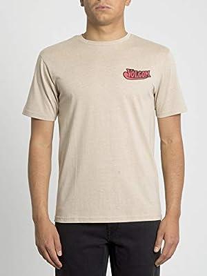 Volcom Glorious Beer HTH SS Camiseta de Manga Corta, Hombre, Beige (Oatmeal), XL: Amazon.es: Deportes y aire libre