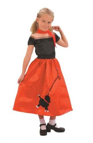 Girls Fancy Dress Costume Teeny Bopper Age 9-12 years 130-140cm G51142L Grease 50s Rock N Roll by (Teeny Bopper Costume)