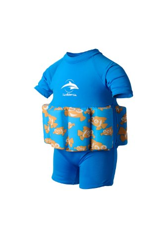02 Swim Vest - Konfidence Floatsuit - Clownfish (1-2 Years)