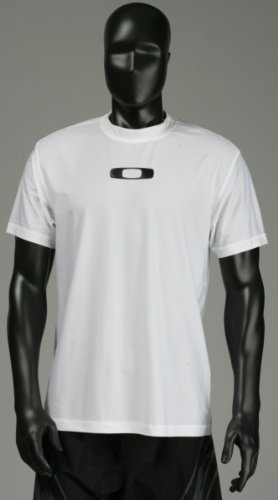 Oakley Square O Surf Shirt - White - S (Rash Guard Oakley)