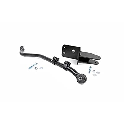 """Rough Country 1181 Front Forged Adjustable Track Bar 1984-2001 Jeep Cherokee XJ ZJ MJ w/ 0-3.5"""" Lift: Rough Country: Automotive"""