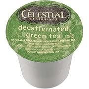 CELESTIAL DECAFFEINATED GREEN TEA K CUPS 24 COUNT