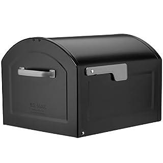 Architectural Mailboxes 950020B-10 Centennial Postmount Mailbox, XL, Black