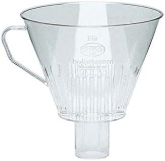 ALFI 0099000000 - Filtro de Plástico Transparente para Cafetera, Talla 4: Amazon.es: Hogar