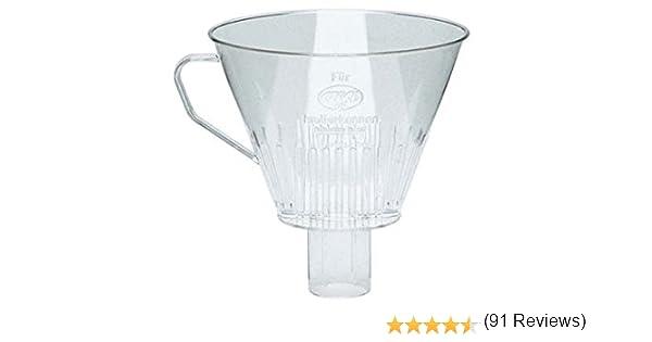 ALFI 0099000000 - Filtro de Plástico Transparente para Cafetera ...