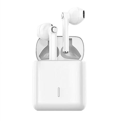 lucky coco Wireless Bluetooth Headset, 5.0 Binaural Wireless Single-Hung Half-in-Ear Sports Running Unisex