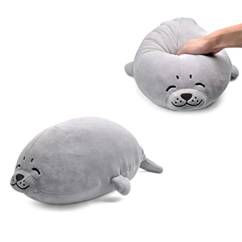 AMOFINY Toys Cute Seal Plush Toy Anime Seal Inu Plush Stuffed Sotf Pillow Doll Cartoon Seal Cute Seal Soft - Restraunt Equipment