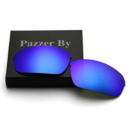 Polarized Replacement Lenses for Oakley Half Wire 2.0 - Ice Blue Mirrored - Wire Replacement Lenses Oakley Frame