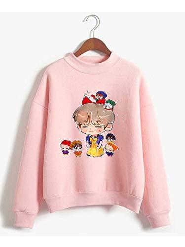 The Incredible BTS Funny Chibi BTS Halloween Costume K-Pop Sweater Sweatshirt RM Jin Suga J-Hope Jimin V Jungkook