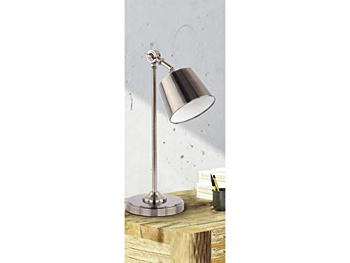 Vintage luce da tavolo con inclinazione giunto e17 fino 28 watt