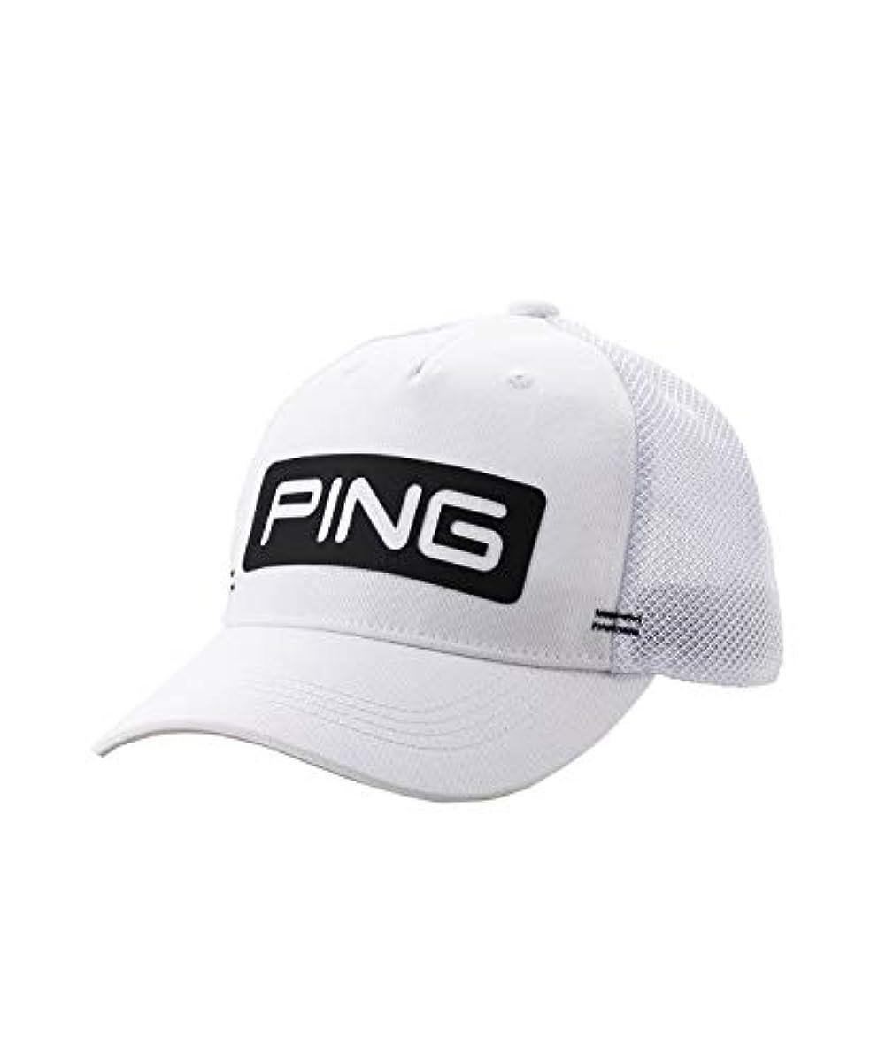 [해외] 핑 골프 캡 35343 01WH FREE
