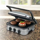 Cuisinart Griddler Gourmet, 5 Functions in 1 Unit: Contact Grill, Panini...